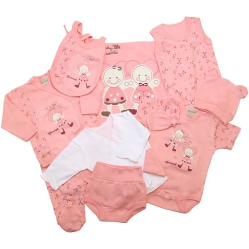 NEWBORN BABY SET-ELEVEN PIECE apple
