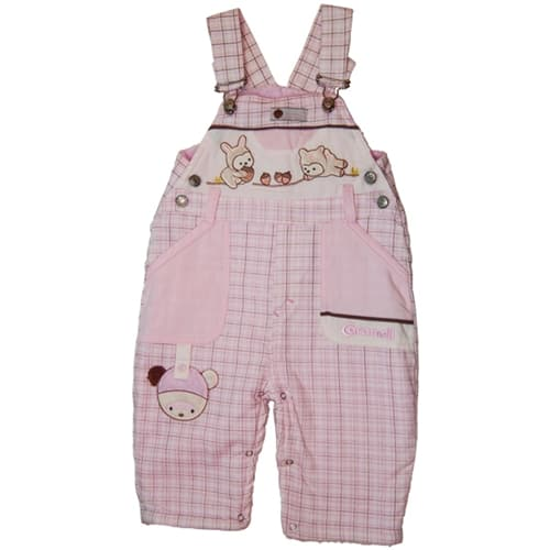 "BABY WINTER JUMP SUIT ""KEEP ME COZY"" pink"