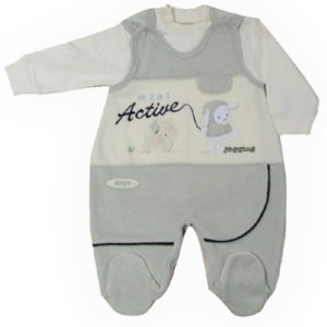 BABY ACTIVE JUMP SUIT–TWO PIECE SET.