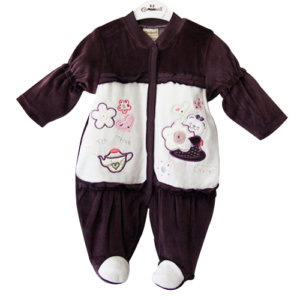 Baby Bunny Hearts Jumpsuit – One | Diana & Nicky
