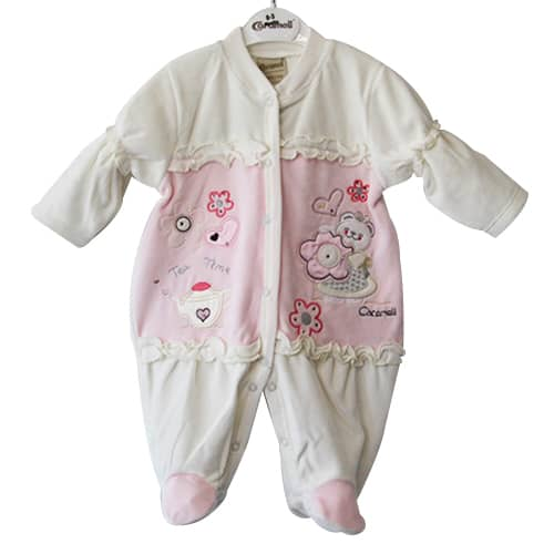 BABY BUNNY HEARTS JUMPSUIT – ONE_white