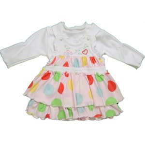 BABY GIRL DOTTED DRESS