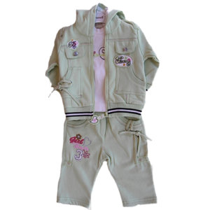 BABY GIRL SET- JACKET AND PANTS