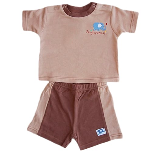 BLUE ELEPHANT CUTE BOY SET