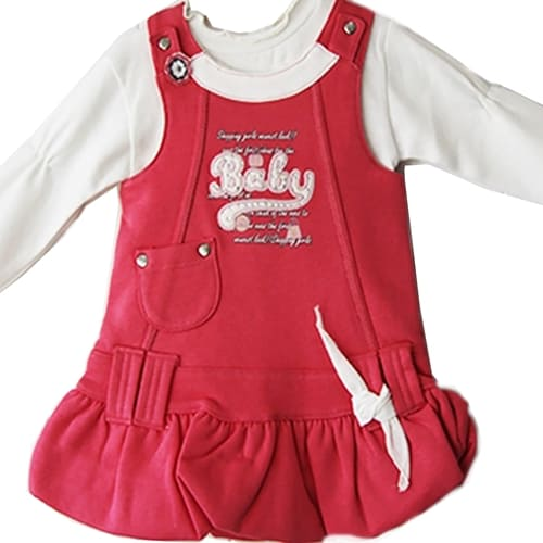 """Baby"" Dress with Shirt"