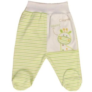 Baby Giraffe Footed Pant_green