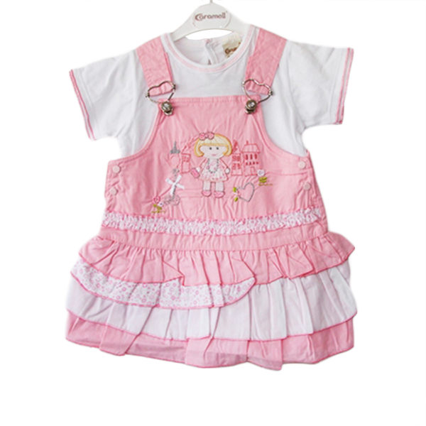 Ballerina in a Tutu Baby Girl Dress pink