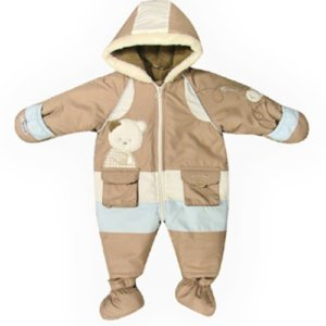 CUTE BABY BEAR ESKIMO SUIT