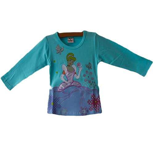 Cinderella Disney Princess Shirt_blue
