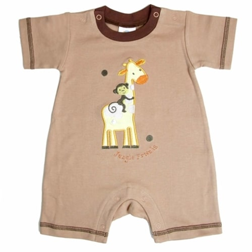 FUN GIRAFFE & MONKEY ONSIE