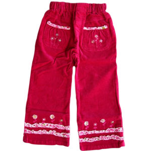 Flowery Girl Pants magenta