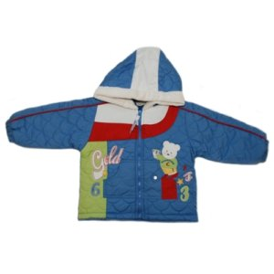 GOLD - TEDDY BABY JACKET - WINTER