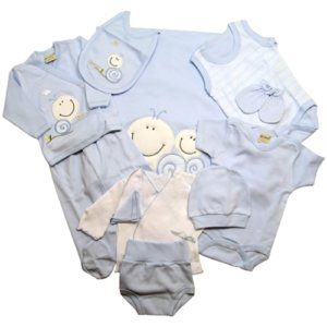 NEWBORN BABY SET - ELEVEN PIECES