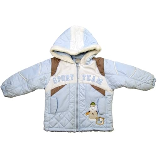 Snowman Bear Winter Jacket