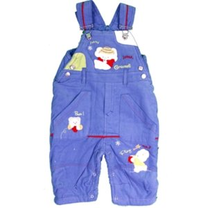 Elephant Overalls- Winter Edition