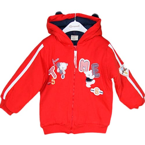 Time Winter Jacket red