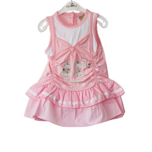 Tiny Dancers_ Baby Girl Dress pink