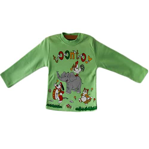 Toon Toy T-Shirt - Green